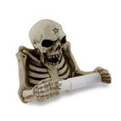 Evil Skeleton Sculptural Toilet Tissue Holder