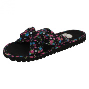 Womens Spot On Floral Mules