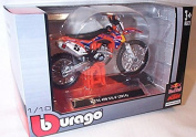 burago KTM 450 SX-F Red Bull Factory Racing bike 1.18 scale diecast model