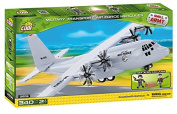SMALL ARMY /2606/ MILITARY TRANSPORT AF HERCULES 340 building bricks by Cobi