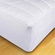 EcoPure Quilted California King Mattress Pad, White
