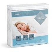 Greenco Premium Hypoallergenic Waterproof Mattress Protector - Vinyl Free