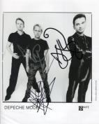 Depeche Mode FULLY SIGNED Photo 1st Generation PRINT Ltd 150 + Certificate
