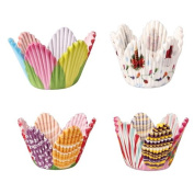 75 Petal Muffin Cupcake Paper Cases Liners Cups Wedding