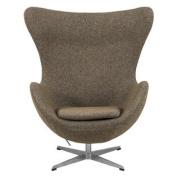 Arne Jacobsen Egg Chair Oatmeal wool