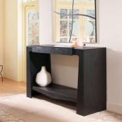 Ballinger Black Finish Modern Hallway Console Table