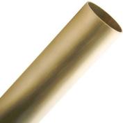 Bar Foot Rail Tubing - Brushed (Satin) Brass - 5.1cm OD