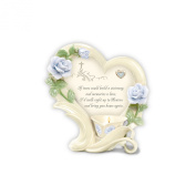 Stairway to Heaven Bereavement Candle Holder By The Bradford Exchange