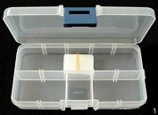 Pandahall 10 Compartments Organiser Storage Plastic Box for Loom Bands Craft or Nail Art Beads