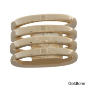 NEXTE Jewellery Plated Devotion Four-band Ring