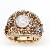 Diamonds for a Cure 18k Rose Gold 2ct TDW Diamond Butterfly Ring