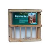 Camco 43411 RV Oak Accents Magazine Rack