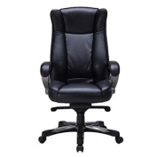 VIVA OFFICE High Back Office Chair, Thick Padded Bonded Leather Managerial Chair-Viva3631L1A