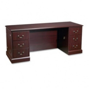 94000 Series Kneespace Credenza 72w X 24d X 29-1/2h Mahogany By