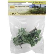 Light Green - Deciduous Trees 7.6cm & 10cm 2/Pkg