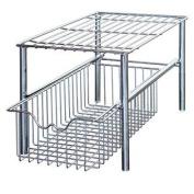 DecoBros Stackable Under Sink Cabinet Sliding Basket Organiser Drawer