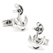Ravi Ratan RR-420 Sterling Boat Anchor Cufflinks