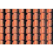 1:48 Spanish Tile Sheet, 19cm x 30cm (2) JTT97435 JTT SCENERY PRODUCTS