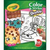 Shopkins Colour 'N Sticker Book