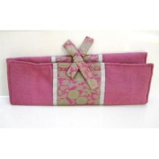 Combination Silk Knitting Needle Case-Orchid