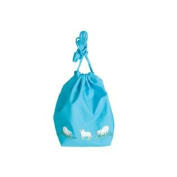 Cotton Meadow Pouch For Knitting And Crochet Projects-Turquoise