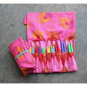 Denise Interchangeables Knit for a Cure Knitting Needle Kit, Bright Pink