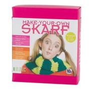 Authentic Knitting Board Skarf Kit/Yarn, Lime Green