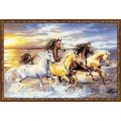 Riolis R100/038 Counted Cross Stitch Kit 60cm by 40cm The Sunset
