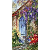 Quiet Garden Counted Cross Stitch Kit by Marty Bell
