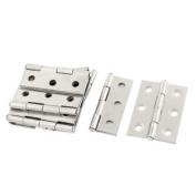 10pcs 45mm x 31mm Stainless Steel Wardrobe Cupboard Cabinet Door Hinges