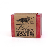 Flying Fox Italian Blood Orange Soap Bar, 130ml - Cleanse Without Drying or Irritating - Tangy Citrus Scent - 100% Vegetable Glycerin