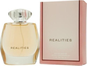 REALITIES (NEW) by Liz Claiborne EAU DE PARFUM SPRAY 100ml for WOMEN (Package Of 2) by REALITIES