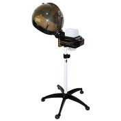 Chromatique Professional Salon Hair Steamer With Rolling Stand Base Hood Colour Processor Beauty Equipment