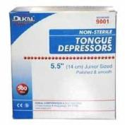 Dukal 9001 Non-Sterile Junior Tongue Depressors, 14cm x 1.6cm (DKL9001) Category
