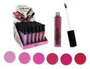 Set of 6 Colours Madly MATTE Lipgloss Bold & Vivid Colour Matte Lipgloss Set #2