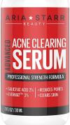 Aria Starr Anti Acne Treatment Serum & Pores Minimizer - BEST For Face, Stubborn Acne, Blackheads & Blemishes -30ml