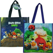 """Angry Birds with Space Non Woven Tote Bag 2 Assorted 13.5x 14"""" x 14cm"""