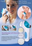 Facial Brush with Dispenser