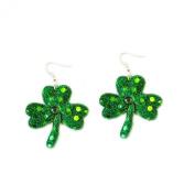 Novelty St. Patrick's Day Shamrock Earrings
