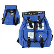 Doctor Who Backpack School Bag Tardis Buckle Slouch Bag Purse Dr Who