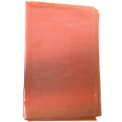 Orange Tangerine Shimmer 100 sheets Tissue Paper