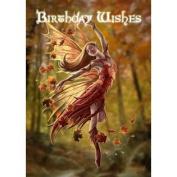 (Price/Pack)Autumn Fairy Card