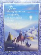 Trimmerry Bible Verse Matthew 2:9 Christian Christmas Cards The Star
