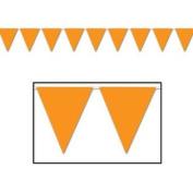 30m Orange Pennant Flag Banner Party Event