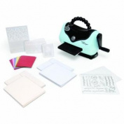 Sizzix 656225 Texture Boutique Embossing Machine Beginner's Kit