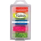 Stampendous Frantage Colour Fragments 5/Pkg-Hot Neon