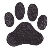 Dog Rubber Stamp - Paw Print Big Foot-1022M Biggest! (Size
