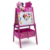 Delta Children Disney Wooden Double Sided Easel With Storage, Minnie Mouse