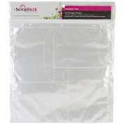 Totally-Tiffany SRSP-P72 ScrapRack Basic Storage Page, Fantastic 5, 10-Pack 320282