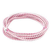 Clothing Hairband Red White Round Elastic String Strap Sewing Tailor Tool 3.5M
